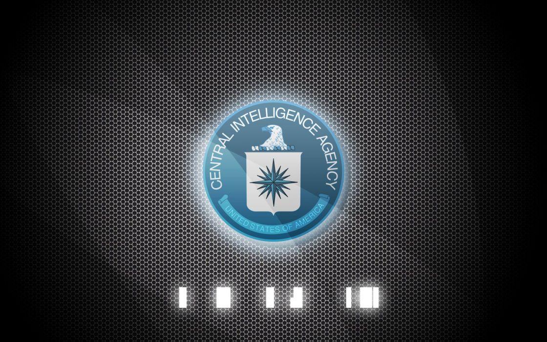 CIA Central Intelligence Agency crime usa america spy logo wallpaper