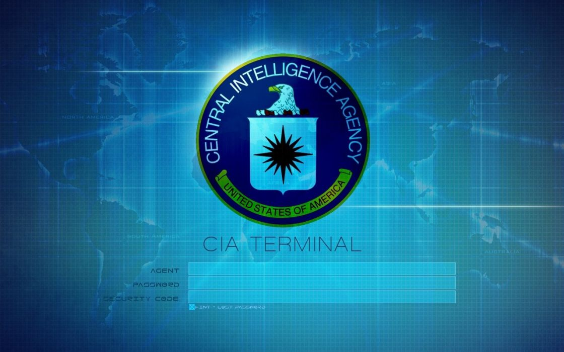 CIA Central Intelligence Agency crime usa america spy logo wallpaper