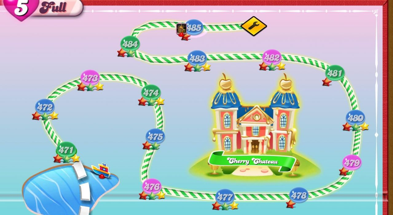 CANDY CRUSH SAGA match online puzzle family wallpaper