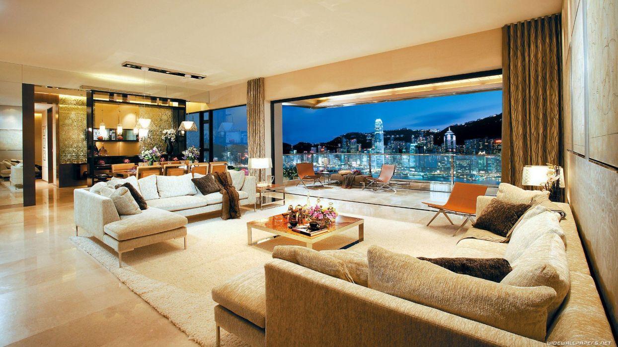 design Hong Kong interior living room interior design wallpaper