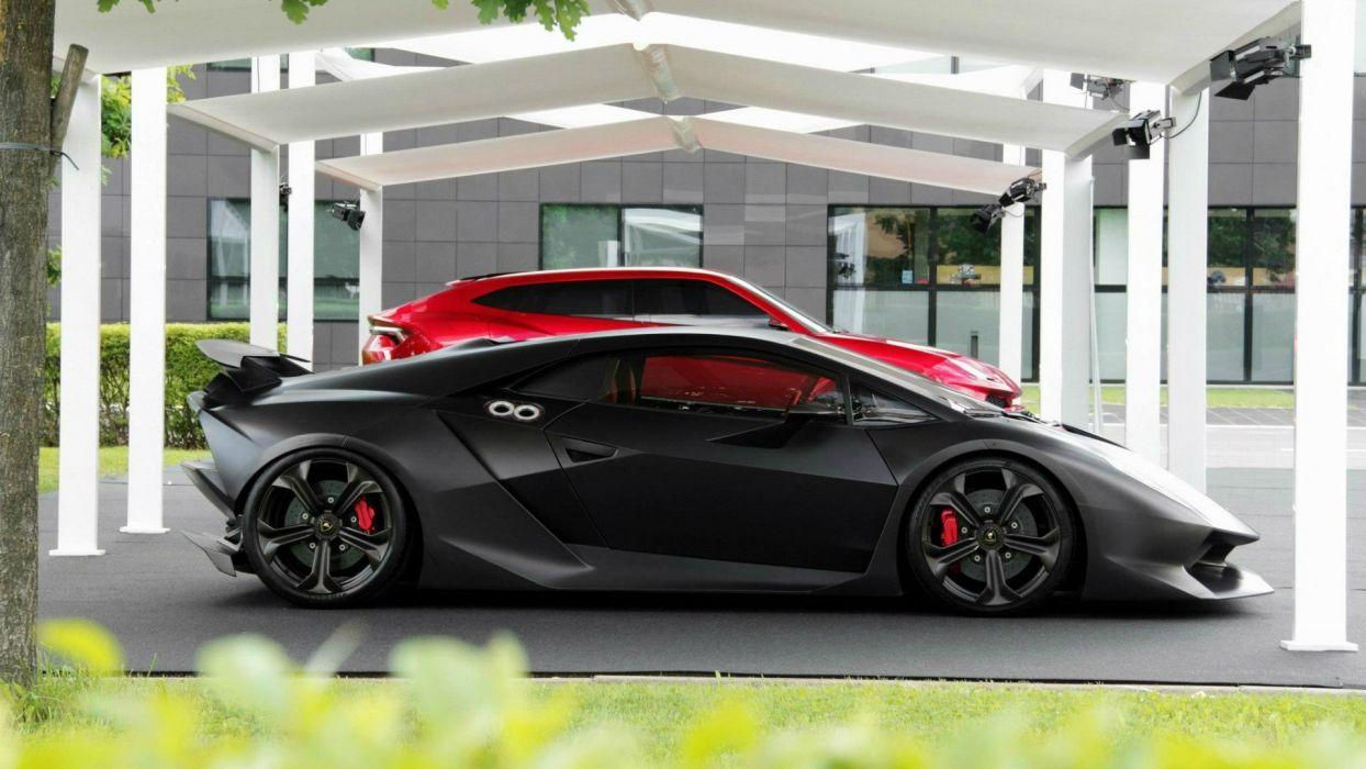 Lamborghini Sesto Elemento And Urus Wallpaper 1920x1080 421826