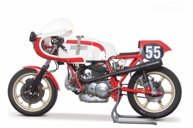 1975 Ducati 750 SS Corsa motorcycle retro classic race wallpaper