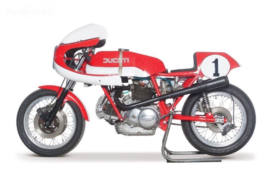 1974 Ducati 750 SS Corsa Motorcycle Retro Classic Race wallpaper