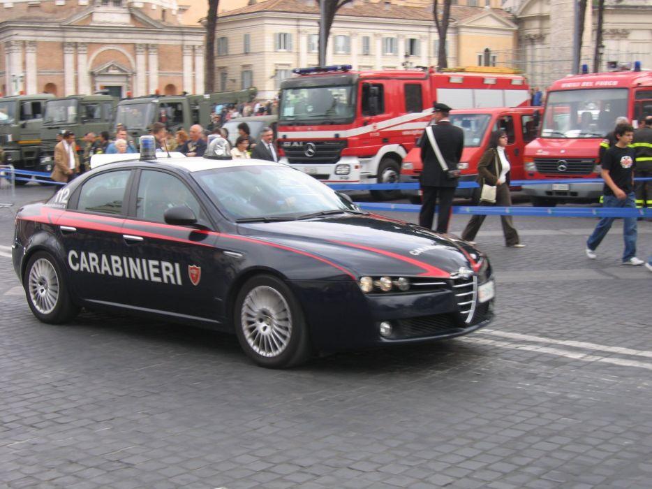 Alfa Romeo 159 Carabinieri Police wallpaper