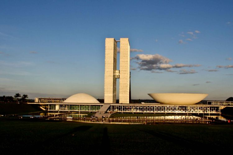 Brasilia Brazil Capital City Landscape Distrito Federal President wallpaper