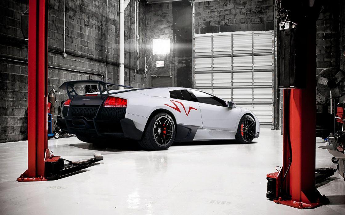 Lamborghini Murcielago LP720 SV wallpaper
