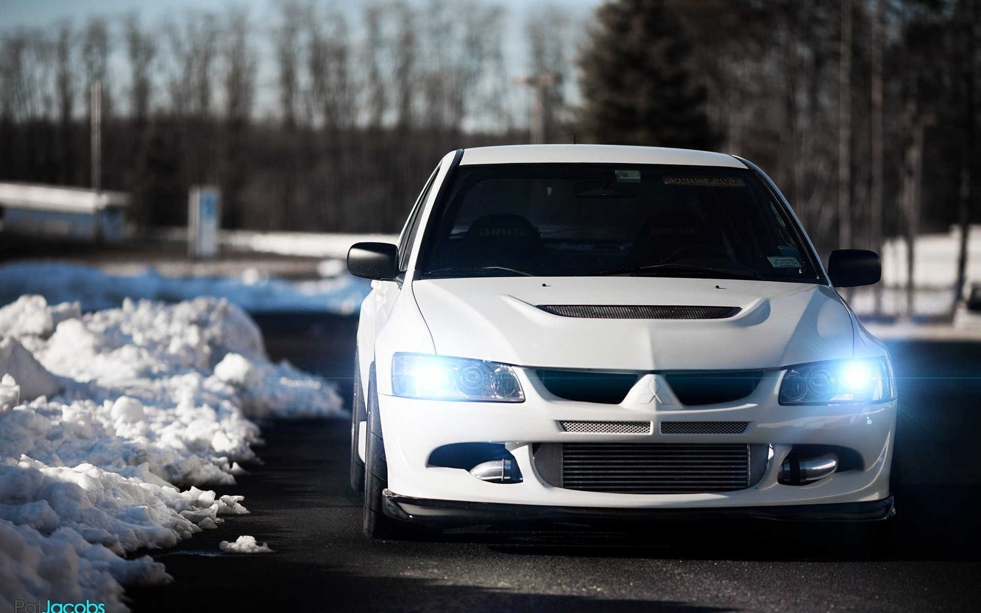 Mitsubishi Lancer Evolution Vii Wallpaper 1920x1200