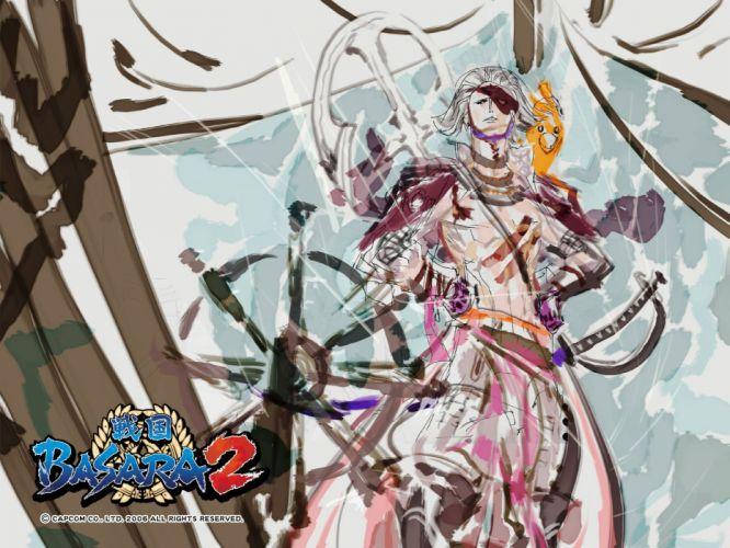 Sengoku Basara online game animation action fighting wallpaper
