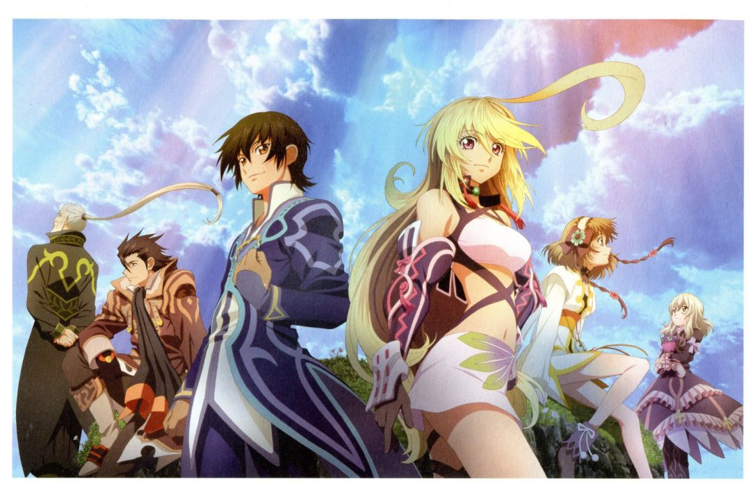 TALES OF XILLIA rpg fantasy anime wallpaper