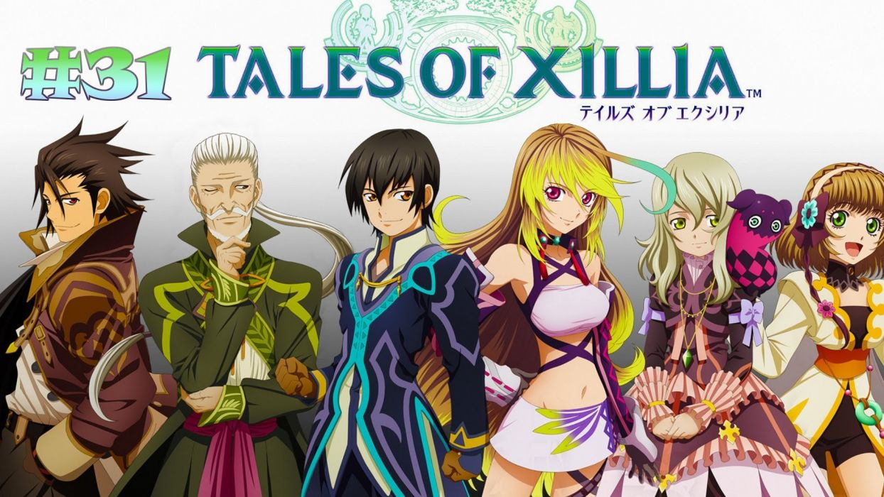 TALES OF XILLIA rpg fantasy anime wallpaper