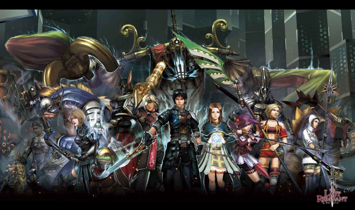 THE LAST REMNANT rpg fantasy fighting sci-fi wallpaper