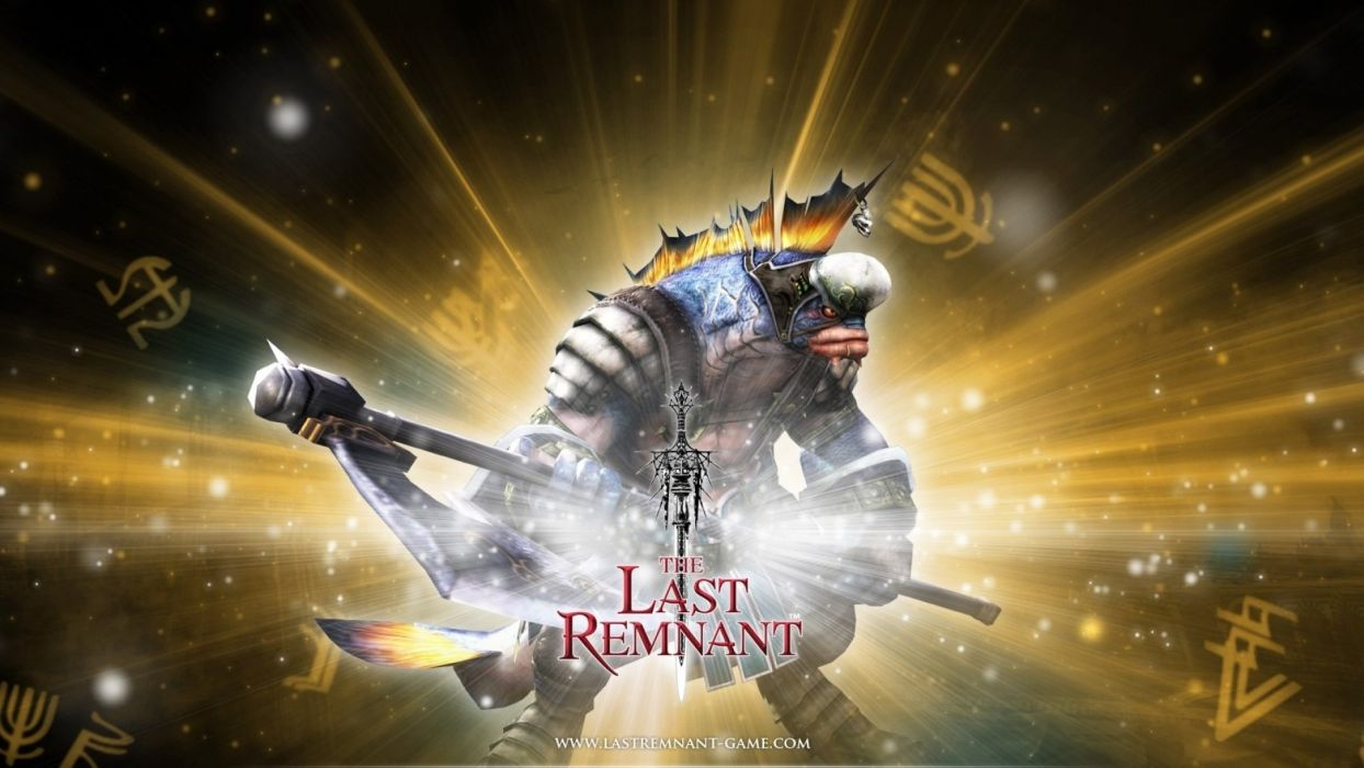 LAST REMNANT rpg fantasy fighting sci-fi wallpaper