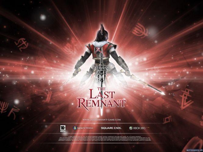 LAST REMNANT rpg fantasy fighting sci-fi wallpaper