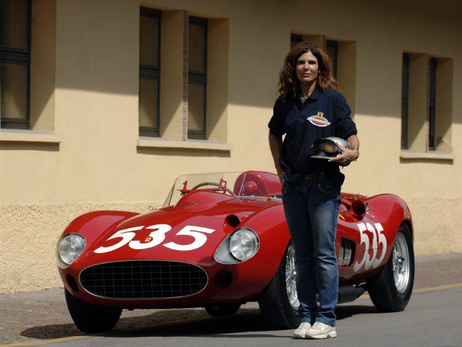 1957 Ferrari 315 S race racing supercar f wallpaper