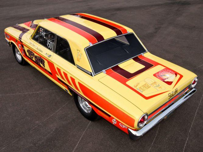 1964 Ford Fairlane Thunderbolt V-8 race racing drag hot rod rods e wallpaper