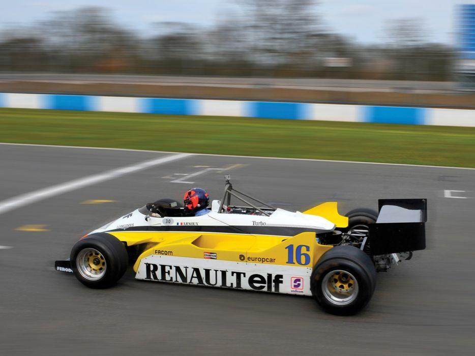 1982 Renault RE30B formula f-1 race racing fs wallpaper
