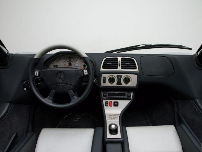 2002 Mercedes Benz CLK GTR AMG Roadster supercar t wallpaper