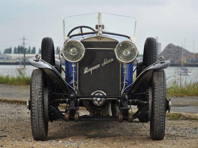 1924 Hispano Suiza H6DA Type Sports retro d wallpaper