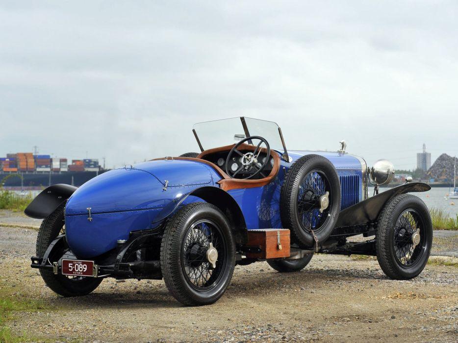 1924 Hispano Suiza H6DA Type Sports retro gd wallpaper