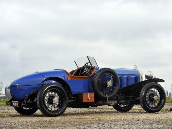 1924 Hispano Suiza H6DA Type Sports retro g wallpaper