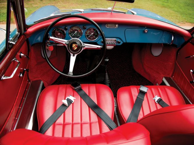 1961 Porsche 356B 1600 Cabriolet retro 356 f wallpaper