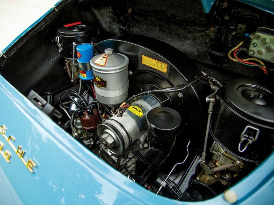 1961 Porsche 356B 1600 Cabriolet retro 356 f wallpaper