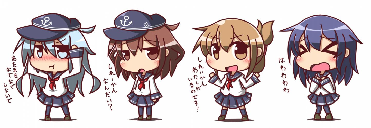 Kantai Collection chibi f wallpaper
