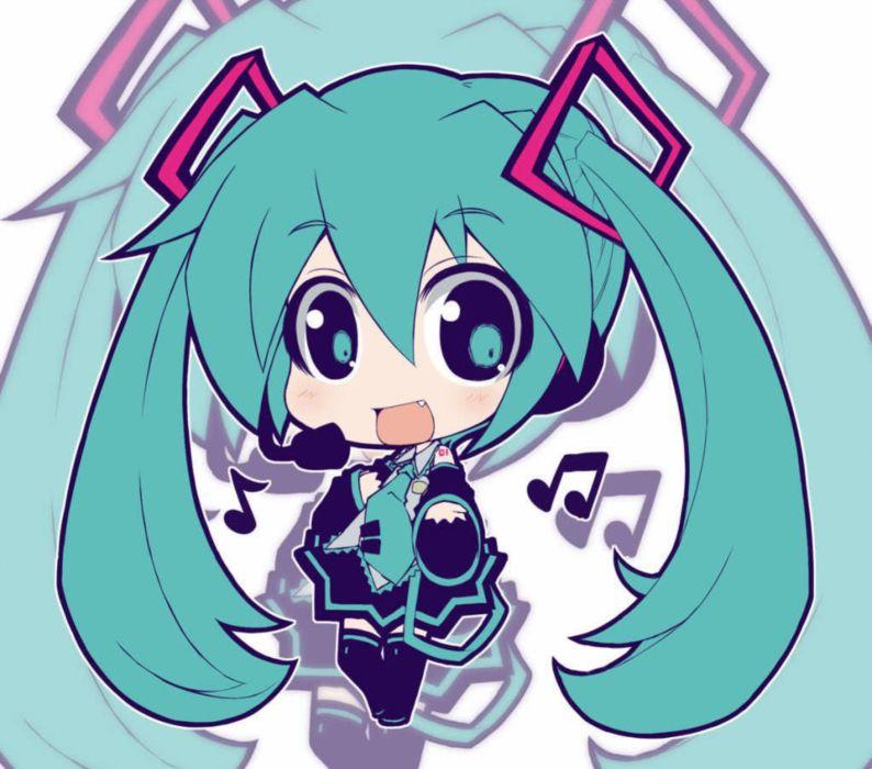 Vocaloid chibi f wallpaper