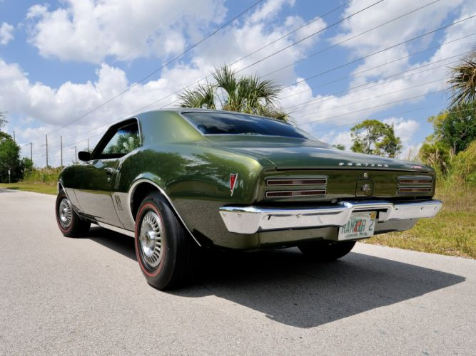 1968 Pontiac Firebird 400 L67 Ram-Air I-I (2337) muscle classic f wallpaper