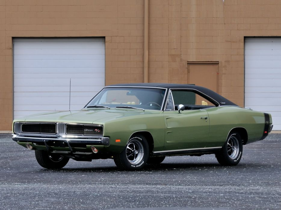 1969 Dodge Charger R-T (XS29) classic muscle f wallpaper