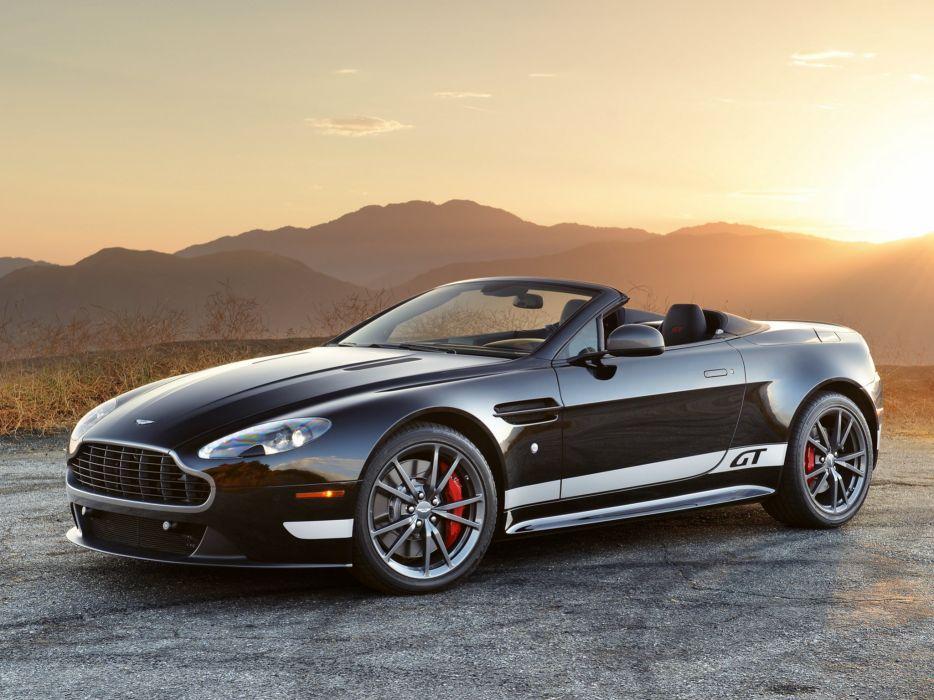 2014 Aston Martin V-8 Vantage G-T Roadster d wallpaper