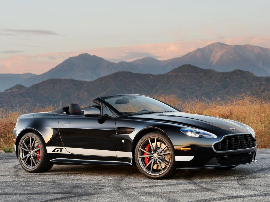 2014 Aston Martin V-8 Vantage G-T Roadster f wallpaper