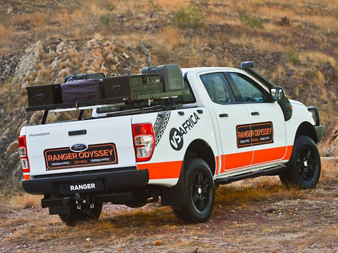 2014 Ford Ranger Double Cab Odyssey pickup ds wallpaper