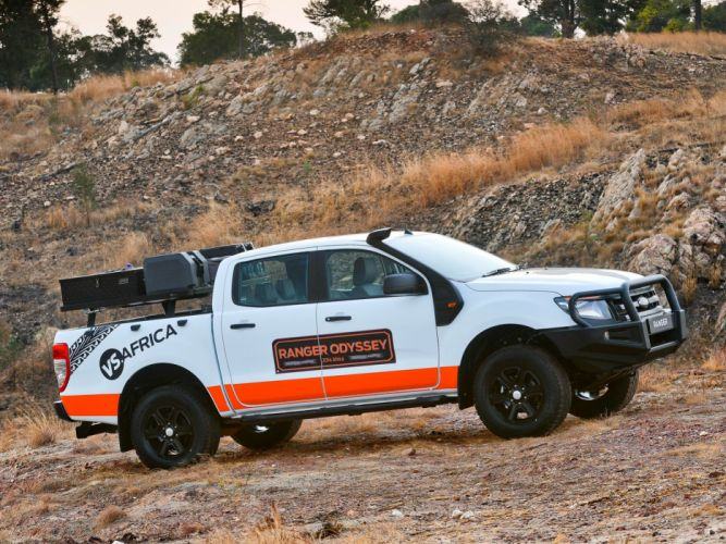 2014 Ford Ranger Double Cab Odyssey pickup d wallpaper