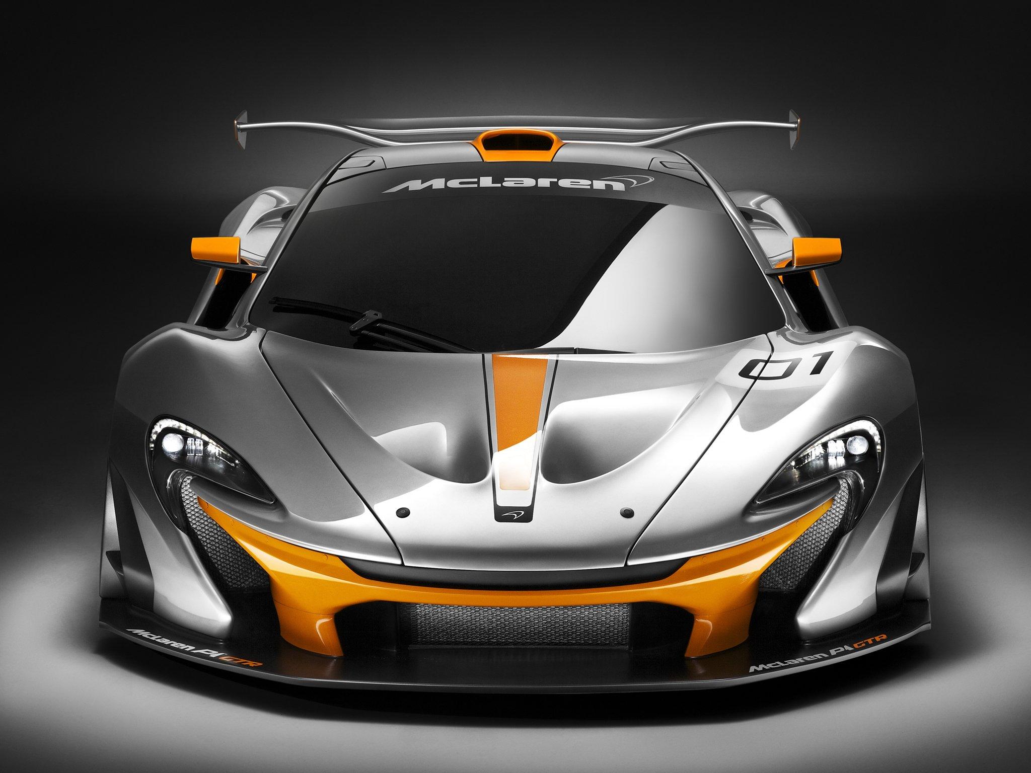 2014 McLaren P-1 GTR Concept supercar race racing r
