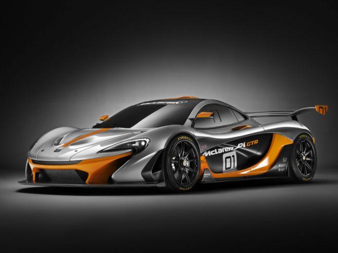 2014 McLaren P-1 GTR Concept supercar race racing r wallpaper