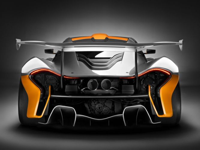 2014 McLaren P-1 GTR Concept supercar race racing f wallpaper