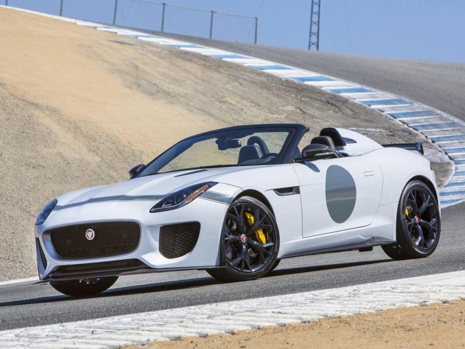 2015 Jaguar F-Type Project-7 US-spec supercar ga wallpaper