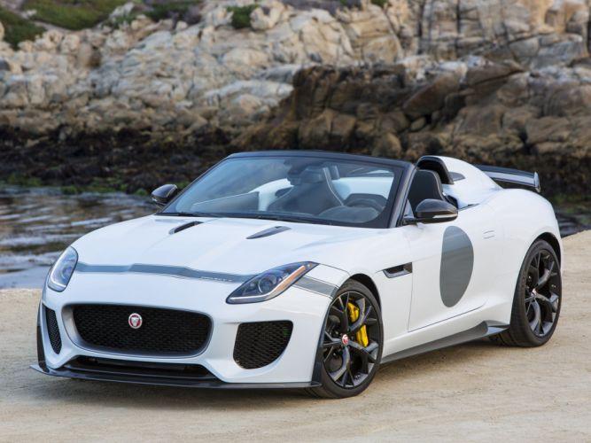 2015 Jaguar F-Type Project-7 US-spec supercar e wallpaper