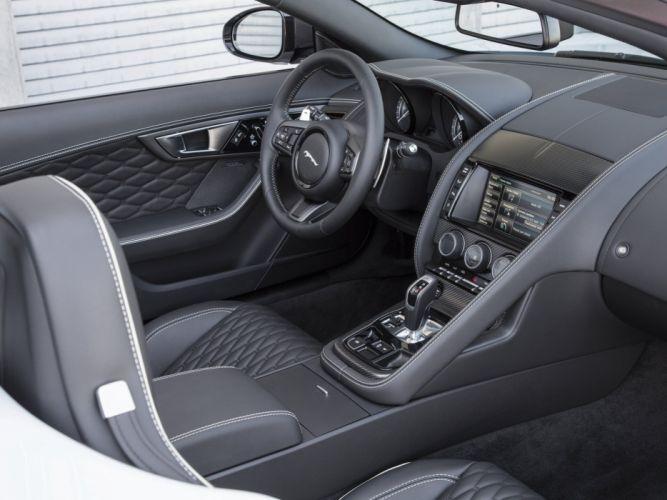 2015 Jaguar F-Type Project-7 US-spec supercar h wallpaper