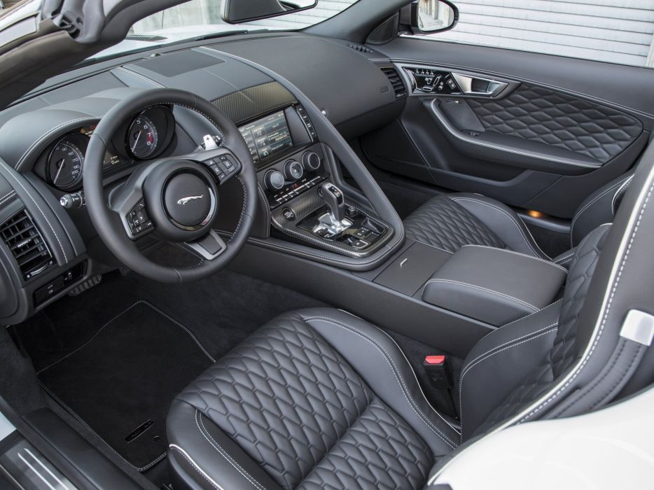 2015 Jaguar F-Type Project-7 US-spec supercar ei wallpaper