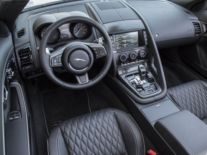 2015 Jaguar F-Type Project-7 US-spec supercar r wallpaper