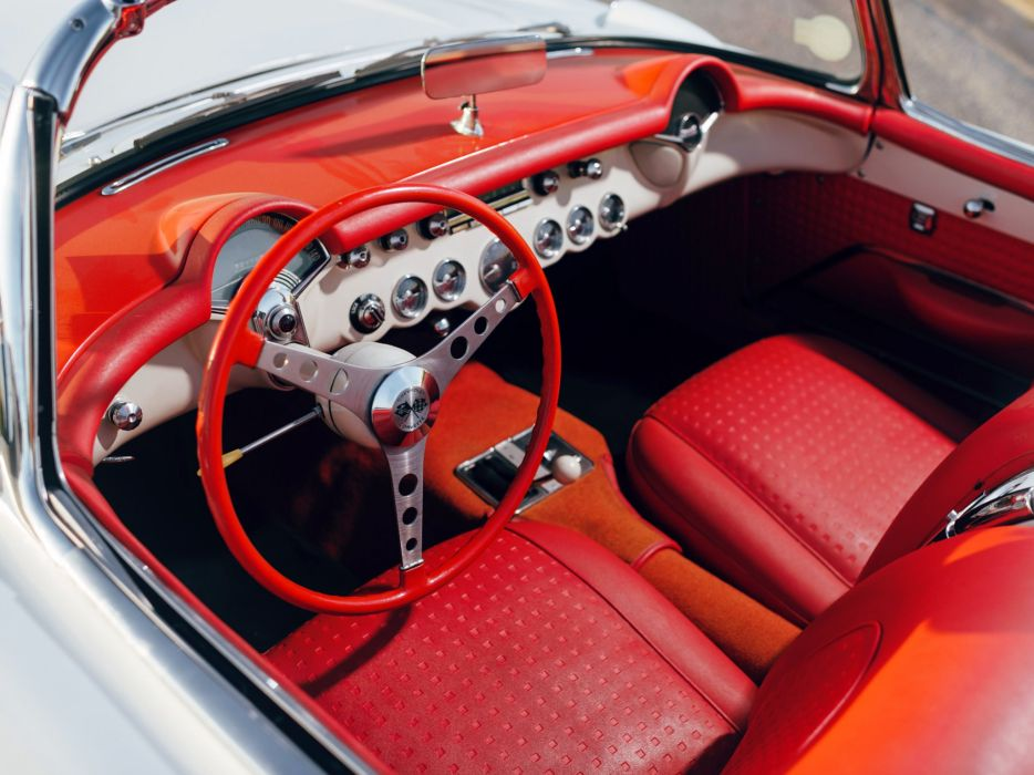 1956 Chevrolet Corvette (2934) muscle retro dq wallpaper