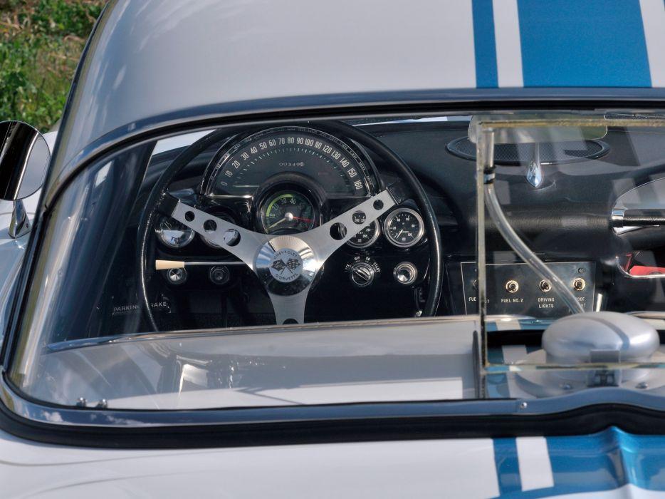 1961 Chevrolet Corvette 283 315HP Fuel Injection SCCA B-Production Race (C-1) racing muscl d wallpaper
