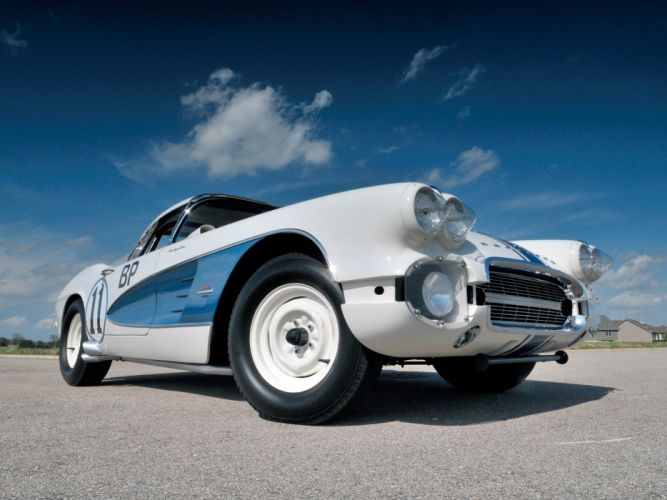 1961 Chevrolet Corvette 283 315HP Fuel Injection SCCA B-Production Race (C-1) racing muscle wh wallpaper