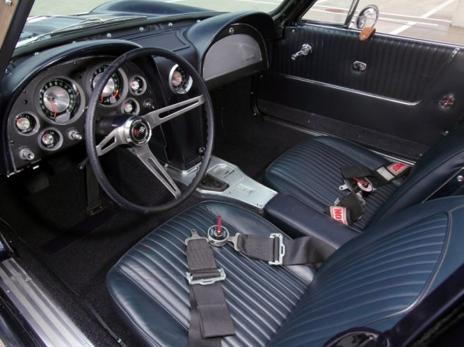 1963 Chevrolet Corvette Sting Ray Z06 Race racing (C-2) muscle classic hot rod rods e wallpaper