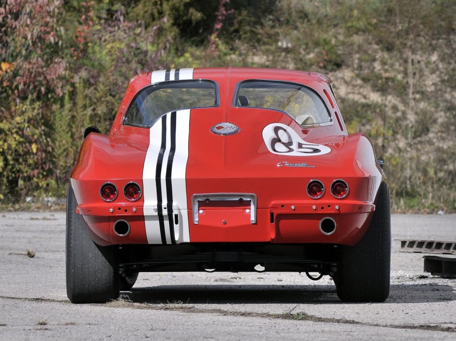 1963 Chevrolet Corvette Sting Ray Z06 Race racing (C-2) muscle classic hot rod rods df wallpaper