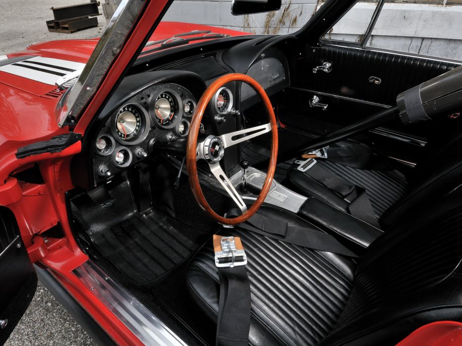 1963 Chevrolet Corvette Sting Ray Z06 Race racing (C-2) muscle classic hot rod rods g wallpaper