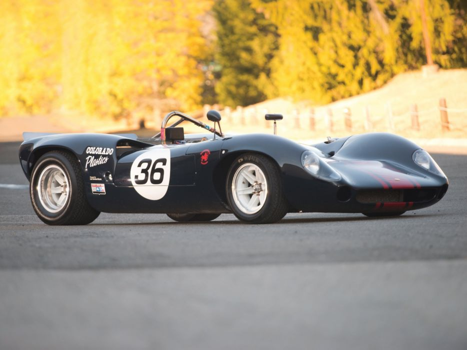 1966 Lola T70 Spyder (MkII) le-mans race racing d wallpaper