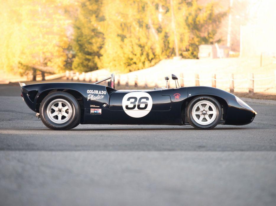 1966 Lola T70 Spyder (MkII) le-mans race racing d wallpaper